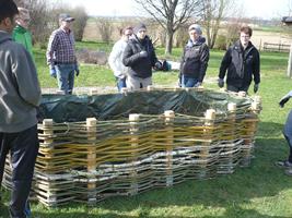 Workshop Hochbeete Aus Weidengeflecht Bauen Gvu Melk
