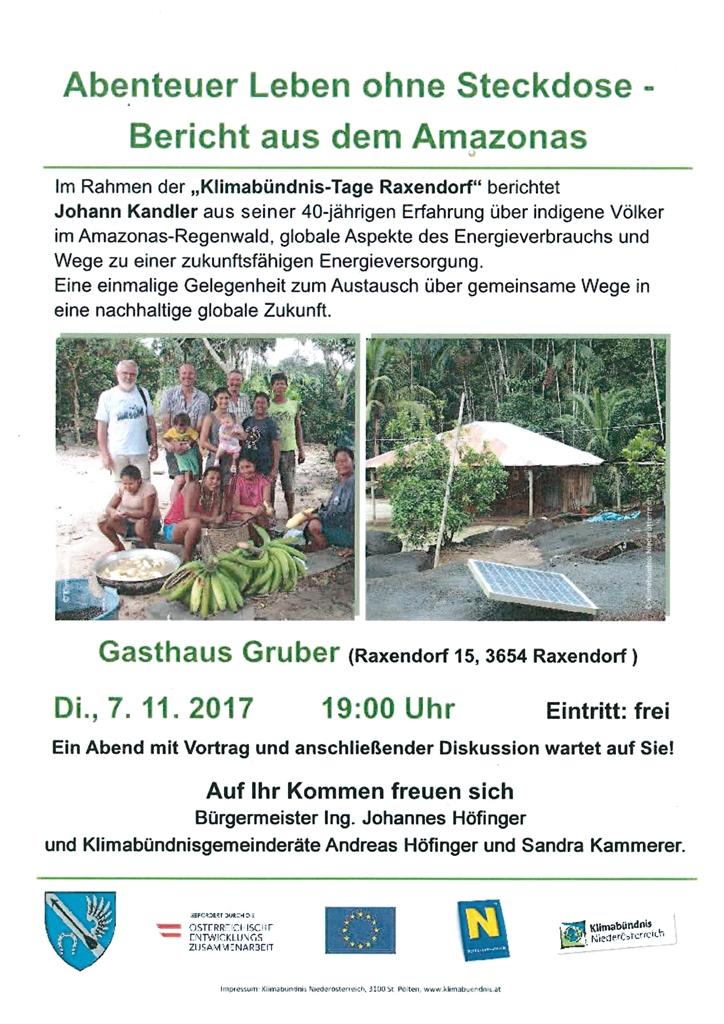 Abenteuer Leben ohne Steckdose - Klimabündnisvortrag in Raxendorf ...